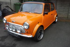 1995 CLASSIC MINI SPRITE 1275 ORANGE Photo