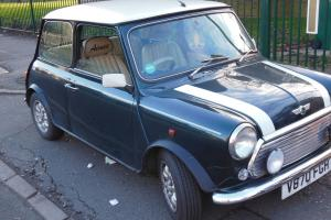 1999 ROVER MINI COOPER GREEN/WHITE