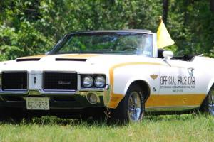 1972 Indy 500 Pace Car - Hurst Olds Convertible -Original Num. Match/Documented