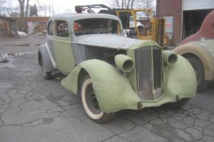 1935 Packard Super Eight 5P Coupe; Model 1204; Type 857