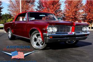 PURE EYE CANDY!!!! 1964 PONTIAC LEMANS  CONVERTIBLE DRESSED IN HOUSE OF KOLOR CA