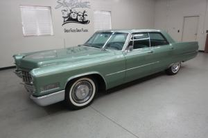 "1966 Cadillac ""Calais"" Sedan in Beautiful, ""Cascade Green Poly"" *53K Orig. Nice!"
