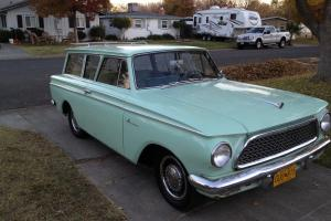 RAMBLER AMERICAN SUPER 2 DOOR STATION WAGON