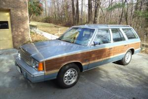 VINTAGE 1981 PLYMOUTH RELIANT SW  VERY NICE! CHRYSLER K-CAR WOODY STATION WAGON