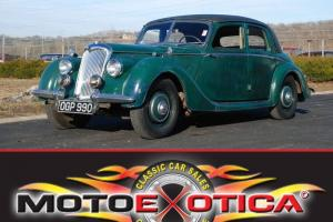 1948 RILEY RMA 1 1/2 LITER SALOON-ALL ORIGINAL-EXTENSIVE HISTORY-LEFT-HAND DRIVE