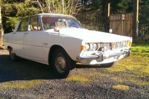 1967 Rover P6 2000 4-door sedan, automatic, no reserve