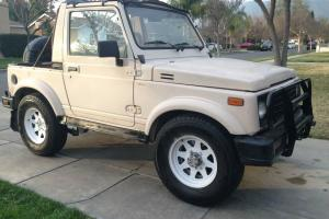 1987 Suzuki Samurai JX Air Conditioning 4x4