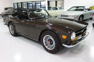 1969 Triumph TR6 Roadster - Restored - Beautiful - Rust Free - Redlines - WOW!!
