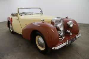 1948 Triumph 1800 RHD,2 tone crème tan interior,nice presentable weekend driver