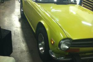 1974 Triumph TR6 Rust Free California Car Photo