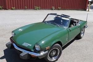 1976 Green 1500! Like New No Rust Convertible Hard Top Restored New Tires