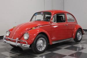 ONE-OWNER BEETLE, BOOK FULL OF RECORDS, LOVINGLY RESTORED, VINTAGE AIR!
