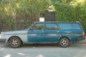 1983 Volvo 240 GLT Turbo Wagon 245 Intercooler, Runs Well, Complete Los Angeles