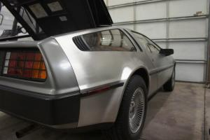 1981 DeLorean DMC 12 Base Coupe 2-Door VIN 6657 Automatic Gray Interior