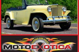 1948 WILLYS JEEPSTER-SAME OWNER SINCE 1970-$20K IN RESTORATION!!