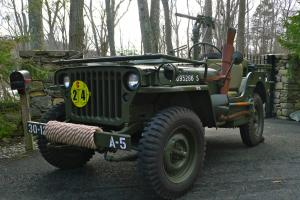1945 Willys MB - WWII Military Jeep - Army Antique / Classic - Fully Restored
