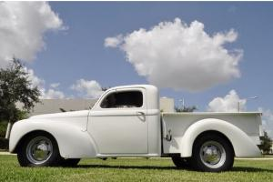 1941 WILLY''S PICKUP CUSTOM RESTO MOD. 1.9L TURBO DIESEL 5SPEED Air Conditioning