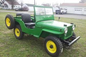 1946 Willys CJ2A Jeep fully restored like brand new!