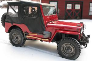 Willys M38 military army jeep
