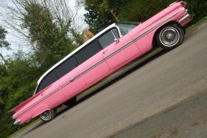 CHEVY  IMPALA 1959 LIMO once owned by WILLY NELSON $$$$$$$ rare limousine