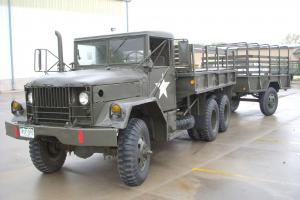 Military REO Truck and Trailer 1966