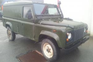 MOD Land rover Defender 110 Extreme weather Daihatsu conversion