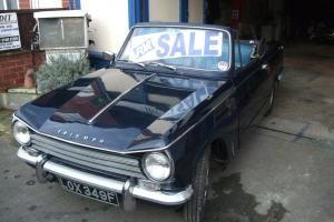 Triumph Herald convertable TC overdrive Photo