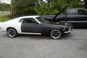 1970 ford mustang fastback with 1997 mustang cobra efi engine 5 speed. project