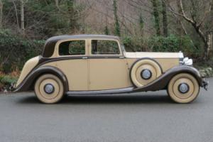 1937 Rolls-Royce 25/30 Hooper Sports Saloon GMP64