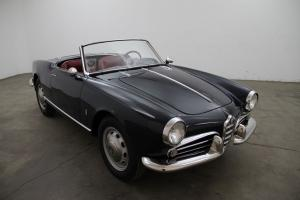 1958 Alfa Romeo Giulietta Spider,navy blue w/red,very presentable weekend driver