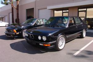 1988 BMW M5!!!   ORIGINAL WITH JUST 6,655 MILES!!!   FINEST EXAMPLE AVAILABLE!!!