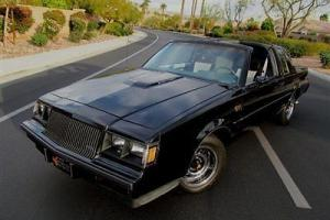 1987 BUICK GRAND NATIONAL ALL ORIGINAL LOW MILES SUPER TURBO MUSCLE NO RESERVE!