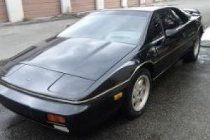 lotus esprit black, low milage