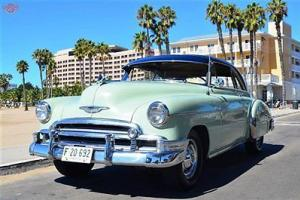 '50 Deluxe, rebuilt auto transmission, very original body and interior