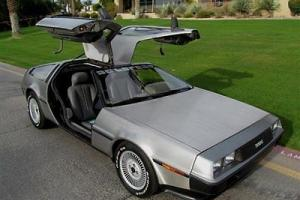 1982 DELOREAN DMC 12 COUPE - ICONIC GULLWING SUPERCAR SELLING NO RESERVE! Photo