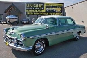 1955 DeSoto Firedome Sedan,runs and drives great! TRADES?