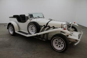 1970 Excalibur Phaeton,white, equipped with an American motor, presentable car