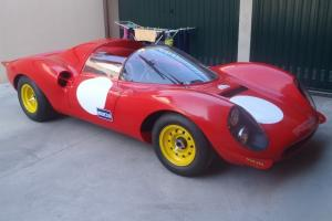 Ferrari 206 Dino SP Le Mans reconstruction by Fantuzzi like 500 Mondial