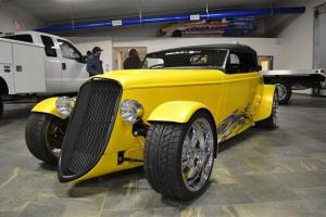 1933 FORD FACTORY FIVE ROADSTER YELLOW