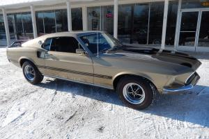 1969 Ford Mustang Mach 1 Champagne gold 351 auto factory A/C Magnums Photo