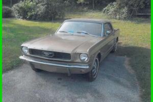 1966 Ford Mustang Convertible 289 cid V8 Gasoline Engine Automatic RWD VIRGINIA