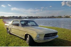 1967 Ford Mustang Hardtop Coupe  Free Delivery
