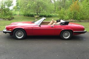 1989 Jaguar XJS Convertible 2-Door 5.3L V12! Very Nice Car! Photo