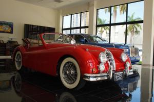 1955 Jaguar XK140M Drophead Coupe Photo