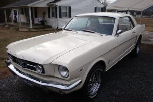 Classic 64 1/2 Mustang With Rebuilt 289 And New C4 Transmission