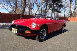 1978 MG MGB MK IV Convertible 2-Door 1.8L NO RESERVE Photo