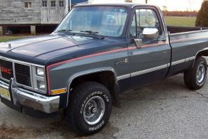 1987 GMC SIERRA CLASSIC 1500 4X4 TRUCK LOADED 2 OWNER pickup