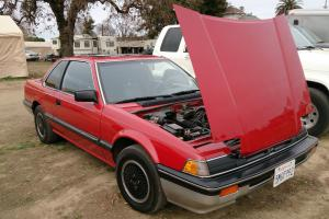 RARE 1983 Honda Prelude - Dual Carbs - New Red Paint - Base Coupe 2-Door 1.8L