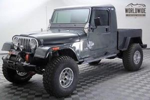 1985 Jeep CJ7 Tribute To Brute Truck Fuel Injected 4X4 Full Custom Frame Off!