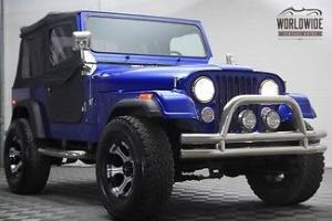 1983 Jeep CJ7 with V8 and AUTO!! Full Frame off Restoration SHOW WINNER